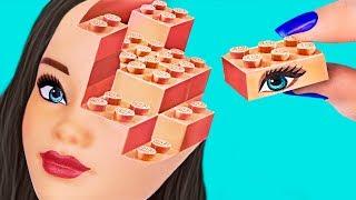 Download ¡10 ÚTILES ESCOLARES DE BARBIE vs ÚTILES ESCOLARES DE LEGO! ¡DESAFÍO! Video