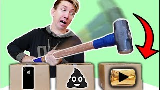 Download Fortnite NINJA WEAPONS vs YouTube Gold Play Button Award & iPhone Mystery Box Challenge! Video