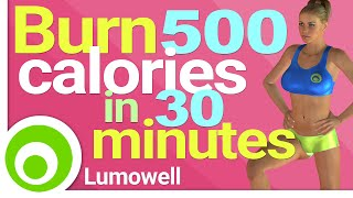Download Burn 500 Calories in 30 Minutes at Home - Fat Burning Workout Video