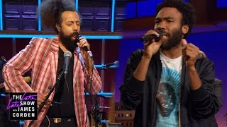 Download Donald Glover & Reggie Watts Make Music Video