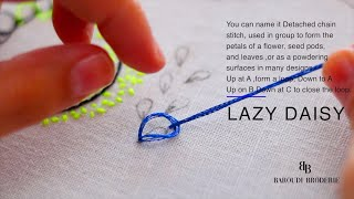 Download POPULAR BASIC HAND EMBROIDERY STITCHES !! Video
