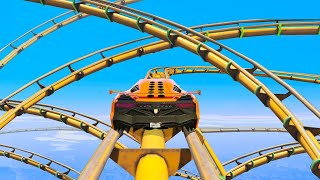 Download MOST INSANE ROLLER COASTER YOU WON'T BELIEVE EXISTS - GTA 5 Funny Moments Video