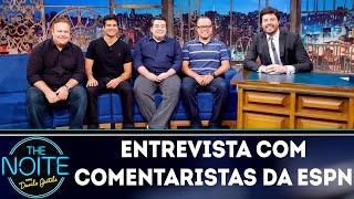 Download Entrevista com Rômulo Mendonça, Everaldo Marques, Paulo Mancha e Paulo Antunes| The Noite (04/09/18) Video