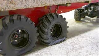 Download RC CRANE ACCIDENT! TO MUCH FOR THE LTM 1055 CRANE! COOL RC ACTION AND HEAVY LOAD! NEW 50t TRAILER Video