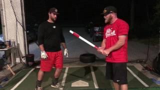 Download PowerNet Sweetspot Training Bat for Baseball Softball Video