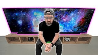 Download The Most INSANE Dual 75-inch Screen Setup! Video