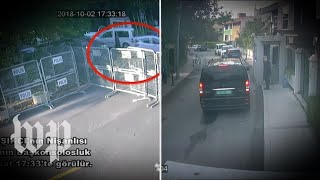 Download Video claims to show chain of events in Istanbul on day of Khashoggi's disappearance Video
