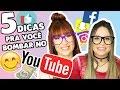 Download 5 dicas pra você BOMBAR seu YouTube Video