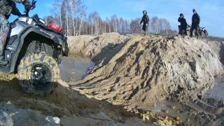Download CAN AM VS CF MOTO VS GRIZZLY CAN AM 1000 VS CF MOTO TERRALANDER X8 800 VS YAMAHA GRIZZLY TEST Video