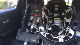 Download New Jeep Cherokee - Carseat 3 across and 2 with adult Video