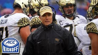 Download ACC Kickoff 2019: Building The Wake Forest Program Video