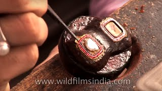 Download Kundan jewellery making made easy - The Best of India Video