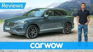 Download New Volkswagen Touareg SUV 2019 review - better than an Audi Q7 and Bentley Bentayga! Video