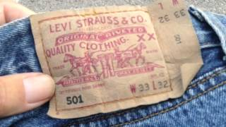 Download Levi's 501 - fake or real? Video