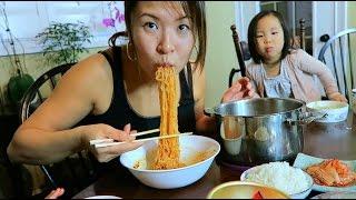 Download Korean Vegan Instant Ramen Noodles #라면 Video