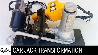 Download Extreme car jack transformation Video
