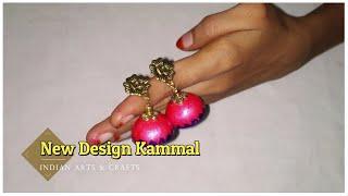 Download New Design Kammal | Jhumka making video | Indian Arts and craft Video