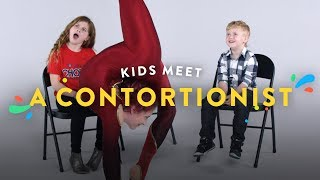 Download Kids Meet a Contortionist | Kids Meet | HiHo Kids Video