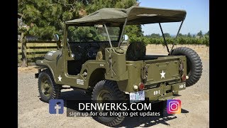 Download 1964 JEEP CJ5 M38A1 Denwerks - Bring A Trailer Video