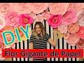 Download DIY: Flor Gigante de Papel Video
