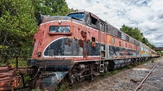 Download Urbex | Exploring Old Decaying Trains - Locomotives - Coaches Video