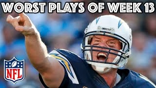 Download Worst Plays of Week 13 | NFL Video