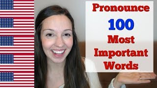 Download How to Pronounce 100 Most Important Words in English Video