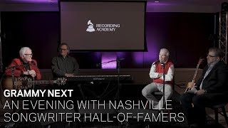 Download GRAMMY Next: An Evening With Nashville Songwriter Hall-Of-Famers Video