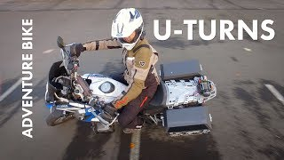 Download How To U-Turn on Adventure Motorcycles Video