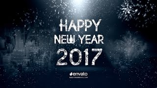 Download New Year Countdown 2017 After Effects Template Video