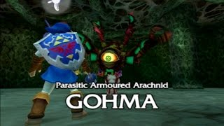 Download [3DS] Fighting Gohma as Adult Link - Ocarina of Time 3DS (Citra) Video