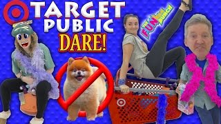 Download Target Dare Family Fun Turns to Public Embarrassment for The Funkee Bunch! No Dogs Allowed! Video