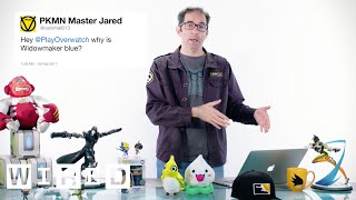 Download Blizzard's Jeff Kaplan Answers Overwatch Questions From Twitter | Tech Support | WIRED Video