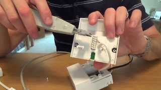 Download How To fit an ADSL FACEPLATE on your NTE5 telephone master socket. Video