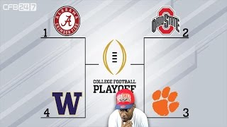 Download MICHIGAN OUT IN THE COLD!!! COLLEGE FOOTBALL (CFB) PLAYOFF RANKINGS!!! Video