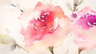 Download [LVL5] Wet on wet Watercolor Painting Technique Video