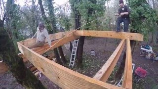 Download Barefoot Builders - Corvallis treehouse Video