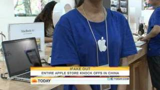 Download Tour of a fake Apple Store in China Video