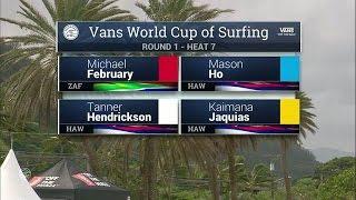 Download 2016 Vans World Cup: Round One, Heat 7 Video