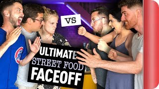 Download THE ULTIMATE 8-WAY STREET FOOD FACE OFF Video