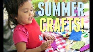 Download EASY CRAFTS FOR KIDS! - June 02, 2017 - ItsJudysLife Vlogs Video