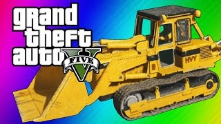 Download GTA 5 Online: 2 Fun Jobs! - Pool Divers & Vehicle Bouncy Castle! (GTA 5 Funny Moments) Video