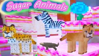 Download Cookieswirlc Plays Minecraft Candy Sugar Land Gaming Cake World Sugar Animals Fantasy Video Video