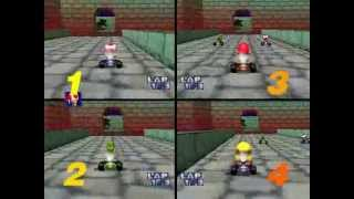 Download Mario Kart 64: 4-CPU, All Cup Video