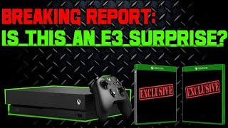 Download BREAKING REPORT! Xbox One Exclusive Game Leak! Is This One Of Microsoft's E3 Surprises!? Video