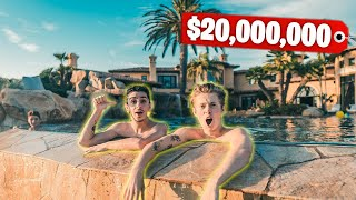 Download This Mansion Has a BACKYARD WATERPARK! (Richest Kid In America) Video