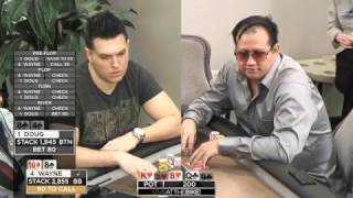 Download Live at the Bike $10/$25 NLHE - ″Doug Polk vs Wayne Heads Up Part 1″ Video