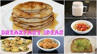 Download SIX HEALTHY AND EASY BREAKFAST IDEAS Video
