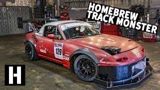 Download Home-Built Track Monster Miata: FAST Frankenstein Build! Video