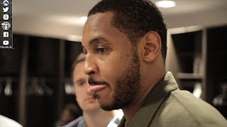 Download Carmelo Anthony Postgame Interview | Thunder vs Kings | November 7, 2017 | 2017-18 NBA season Video